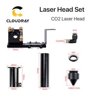 Image 5 - Новая лазерная головка Cloudray серии CO2 E с объективом D20mm FL50.8 & 63,5 & 101,6, зеркало 25 мм для лазерного гравировального станка