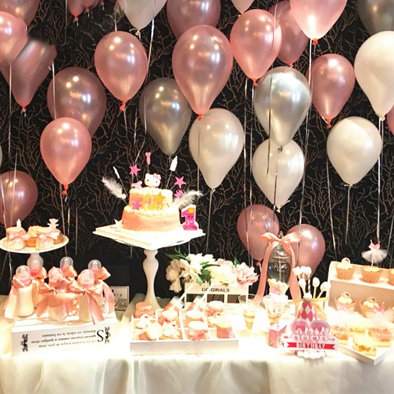 10/20/30/50Pcs 10inch Pearl Latex Balloons For Birthday And  Wedding Party 5