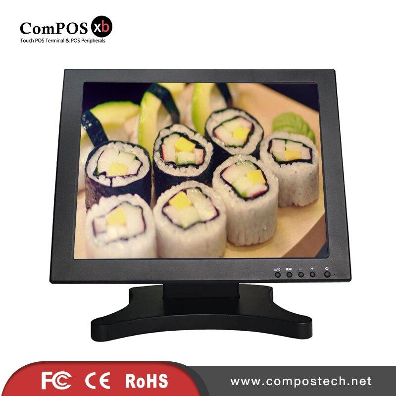 Solide strukturierte schmetterling basis 15 zoll screen monitor für büro