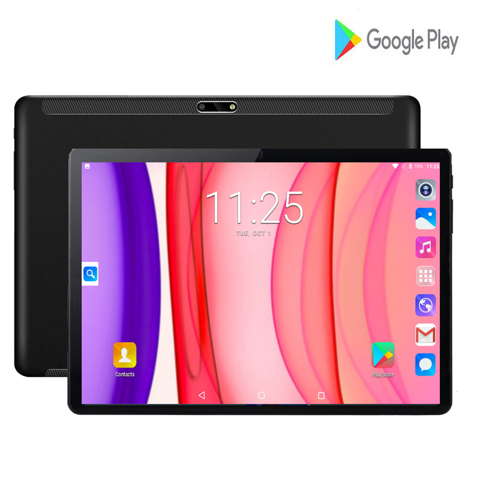 2020 New Google Android 7.0 10 Inch Quad Core Tablets 3G WIFI Phone Call Tablet 2GB 32GB Dual SIM 8.0MP Wifi GPS Tablets 10 Pad
