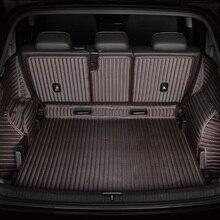 цена на 3D Full Covered Waterproof Carpets Boot Rugs Custom Special Car Trunk Mats for Infiniti QX50 QX50L FX EX JX G M Series QX56