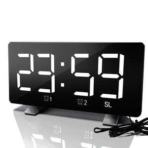 Alarm-Clock Table Time-Night-Lcd-Light Snooze-Display Desktop Digital Multifunction Despertador