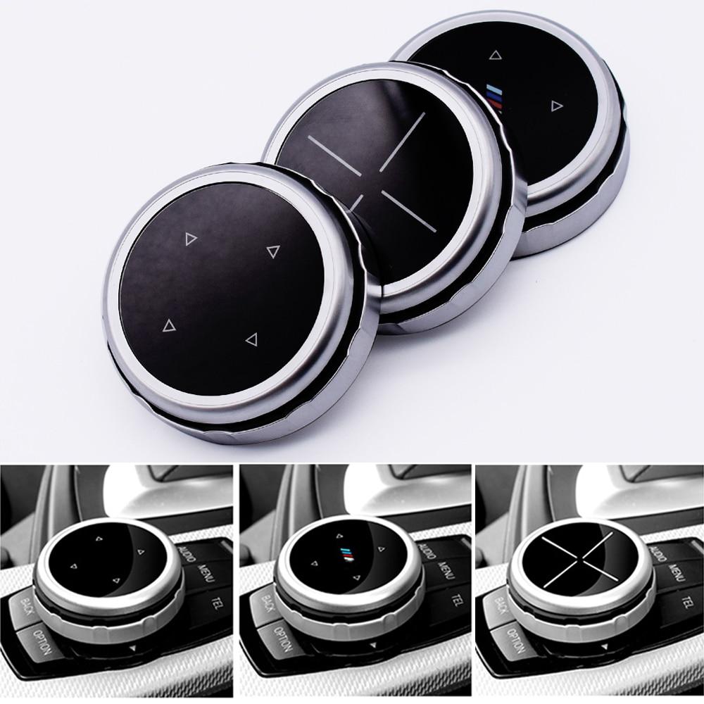 Автомобильные принадлежности Мультимедийные кнопки для BMW 1 2 3 5 7 серии X1 X3 X5 X6 E90 F10 F30 F15 F25 F16 F11 M эмблема интерьер