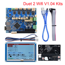 Duet 2 Wifi V1.04 Cloned DuetWifi 32 Bit Control Board+4.357 PanelDue Touch Screen 3D Printer Parts CNC Ender 3 Pro Duex5