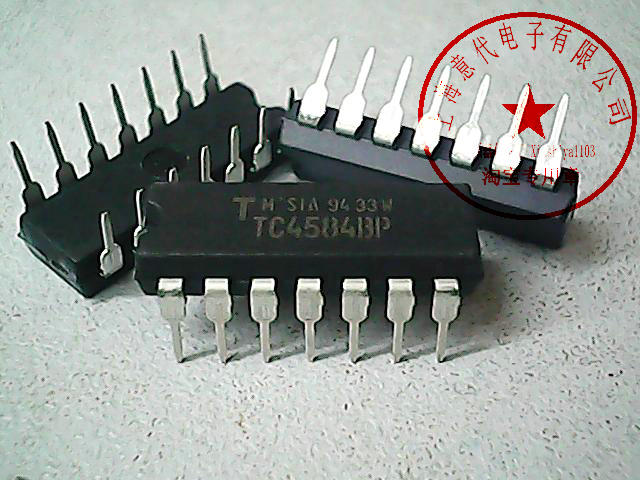 5pcs TC4584BP    4584