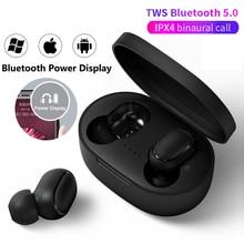 A6s pro tws fone de ouvido bluetooth sem fio fone estéreo mini com cancelamento ruído para xiaomi iphone huawei samsung