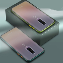 Transparent Matte Hard Phone Case for Oneplus 8 Pro Fundas Ultra-Thin Camera Protective Cover for Oneplus 6 6T 7 7T 7pro Coque for oneplus 6t case luxury robot hard back phone case for oneplus 6t 6 t back cover for oneplus 6t coque fundas