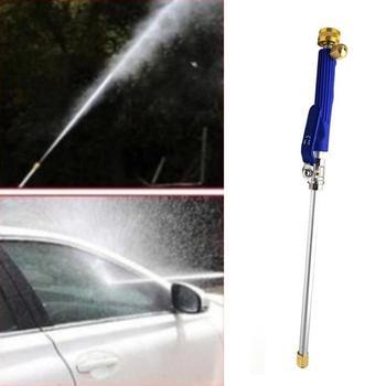 Strumień wody pod ciśnieniem urządzenia do oczyszczania pistolet na wodę pod wysokim ciśnieniem metalu pistolet na wodę wysokociśnieniowa myjnia samochodowa Spray myjnia samochodowa narzędzia ogrodowe tanie i dobre opinie CN (pochodzenie) Stop Inżynieria Tworzyw Sztucznych Palec Typu Słupa wody
