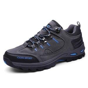 Image 4 - VESONAL Zapatillas deportivas de malla transpirables para hombre, calzado antideslizante para exteriores, para otoño e invierno, 2019