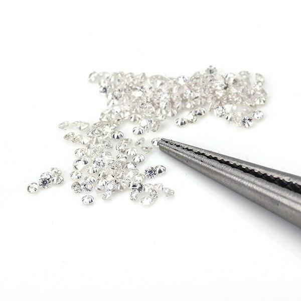 STARSGEM 400pcs 0.8mm small size EF Round Brilliant Cut Moissanite for Ring Setting