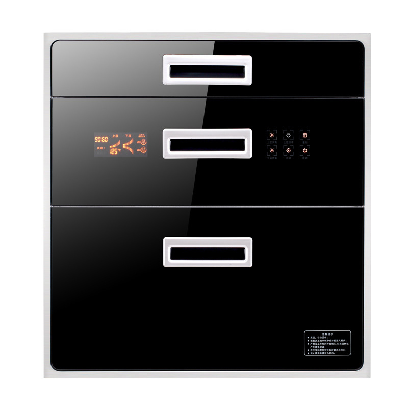Household Large-capacity Disinfection Cupboard Cabinet Embedded Disinfection Cabinet Inlaid High-temperature Disinfection
