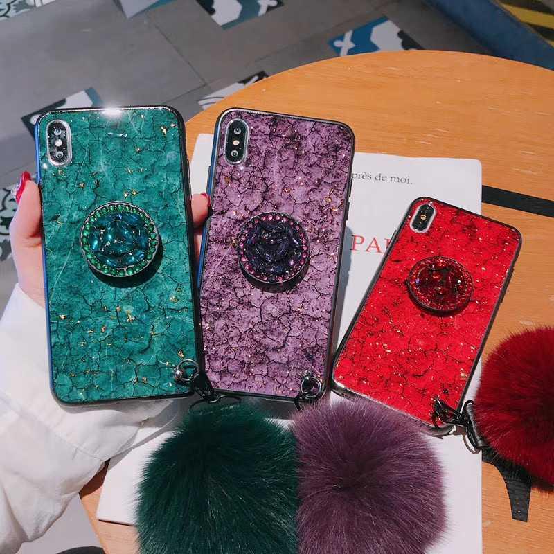 เคสโทรศัพท์สำหรับ Huawei P30 P20 P40 Nova 3 Honor 8 8A 8X 9 10 10i 20 20S Lite pro 6.15in ผู้ถือแหวน Lanyard สีกลับ