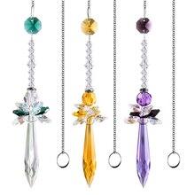 Rainbow-Maker Angel-Suncatcher Pendent Prisms Garden-Decor Crystal Window 3-Hanging Home