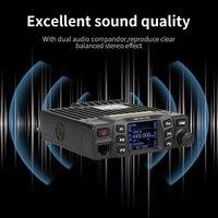 vhf uhf השחור החדש Retevis RT95 Dual Band VHF 144-146MHz UHF 430 ~ 440MHz 200 ערוצים נייד לרכב רדיו A9129A (4)