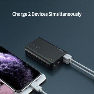 Romoss Sense4 Mini Power Bank 10000mAh Schnelle Ladung Power 10000mAh Tragbare Externe Batterie Ladegerät Für iPhone Für Xiaomi