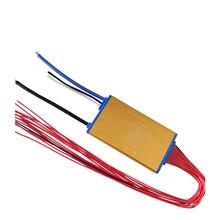 Super fino 48v 13s 15a 25a 35a bateria de lítio bms pcm pcb com sensor de calor e interruptor liga/desliga para bateria hailong ebike