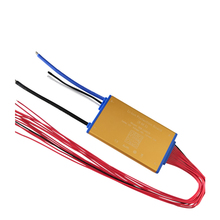 Super thin 48V 13S 15A 25A 35A Lithium battery BMS PCM PCB with heat sensor and on off switch for Hailong battery ebike battery