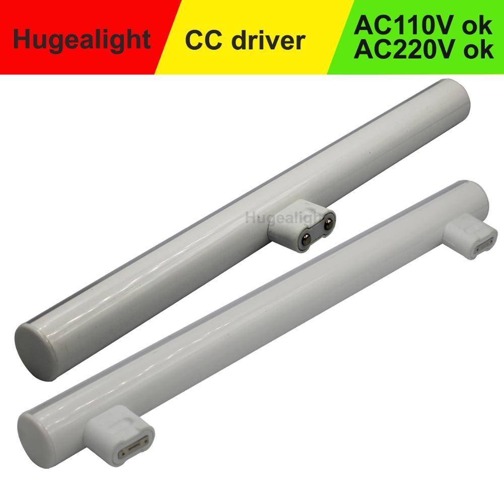 S14S S14D LED Light Linestra Integrated Tube Strip Lamp Mirror Wall Light Powerful 3W 6W 10W 12W Tube Light 110V 220V  Ce Rohs