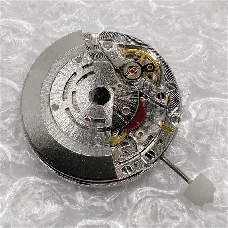 Chine clone 3135 mouvement automatique mouvement mécanique hommes montre horloge mouvement remplacement accessoires