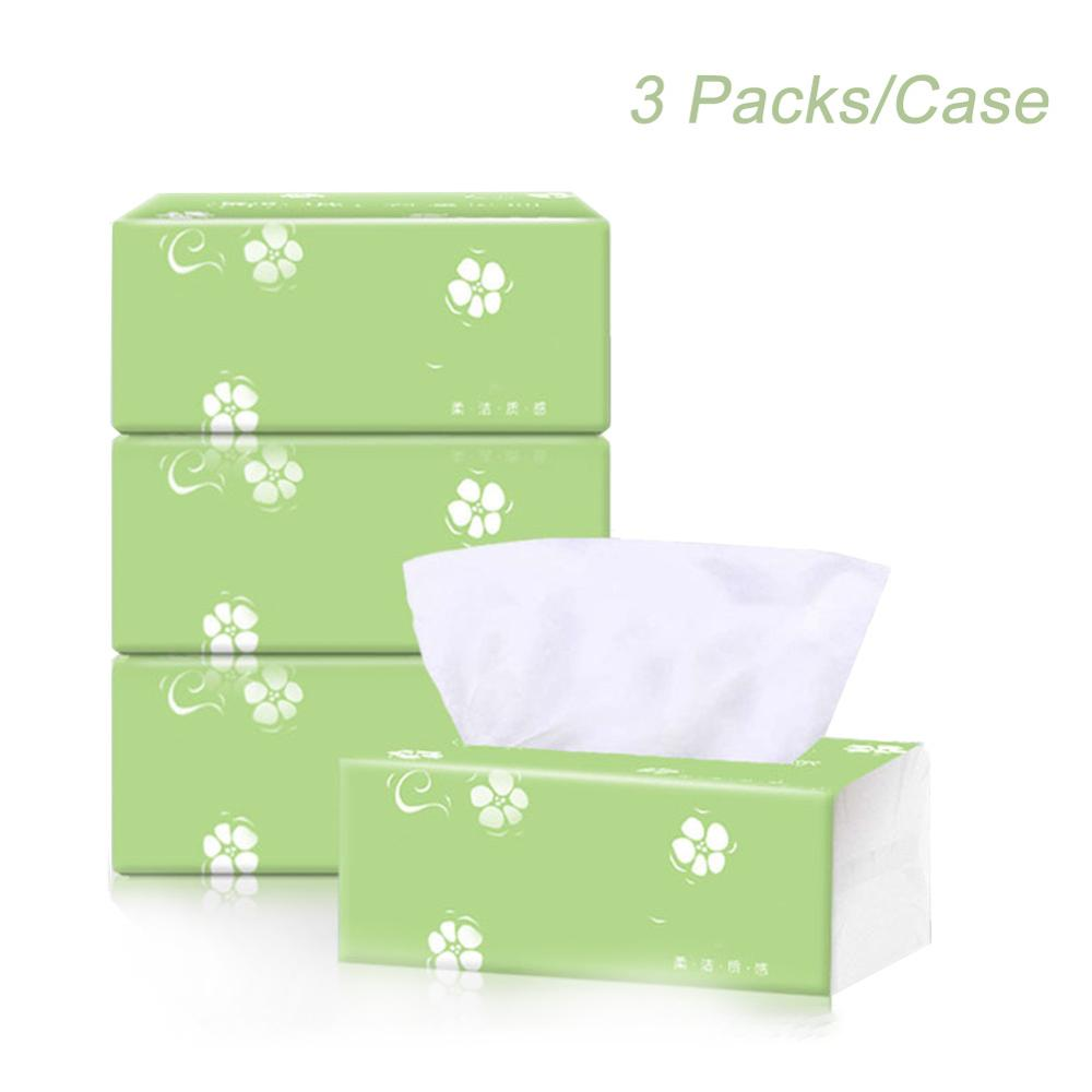 3 Packs/Case 3-Ply Toilet Tissue Home Bath Toilet Roll Paper Soft Toilet Paper Skin-friendly Paper Towels New Fast Shipping