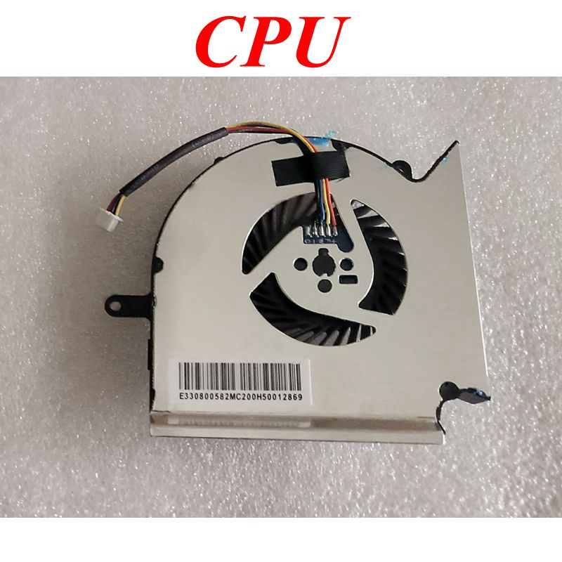 NEW Laptop cpu cooling fan for MSI GS63VR GS63 GS73 GS73VR MS-17B1 Stealth Pro CPU BS5005HS-U2F1 GPU BS5005HS-U2L1 COOLER