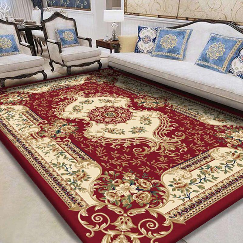 Retro Warm Carpet Bedroom Boho Style Tassel Soft Plush Rug Hand Woven Indian Classic Tapestry Sofa Cushion Tatami Floor Mats