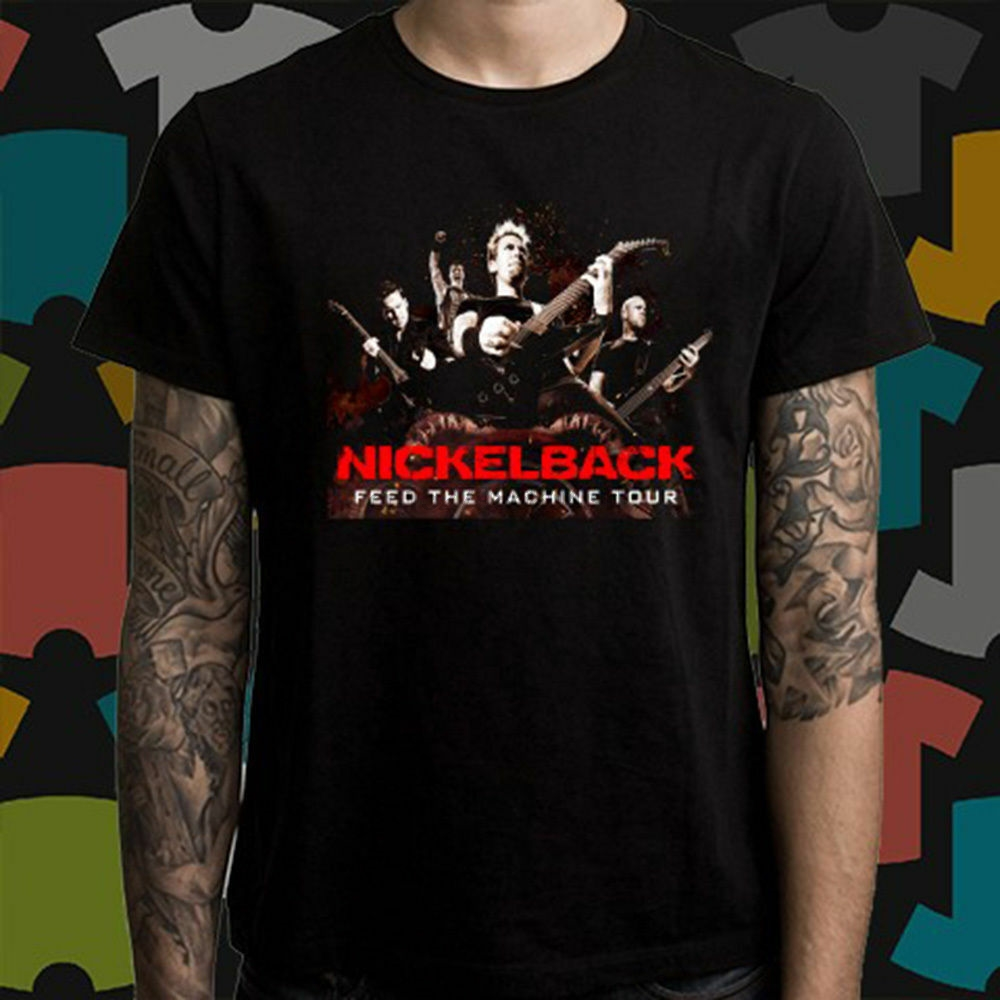 New NickelBack Tour 2019 with Dates T-Shirt S-5XL