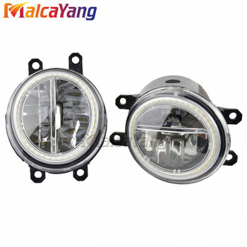 2pcs/pair (LEFT+ RIGHT) Car Driving Front LED Fog Light For Toyota Vios / Yaris Sedan ZSP9 NCP9 2007-2010 image
