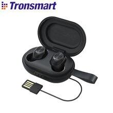 Tronsmart Spunky Beat batida fones de ouvido estéreo sem fio verdadeiro bluetooth 5.0 fones de ouvido aptx com ipx5, cvc8.0, controle de toque