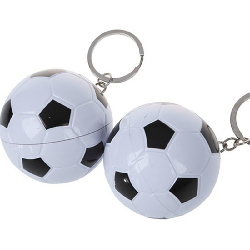 1 Pc Football Ballpoint Pen Keychain Football Soccer Ball Fans Sports Souvenir Sport Gifts Wholesale Key Ring Birthday Gifts