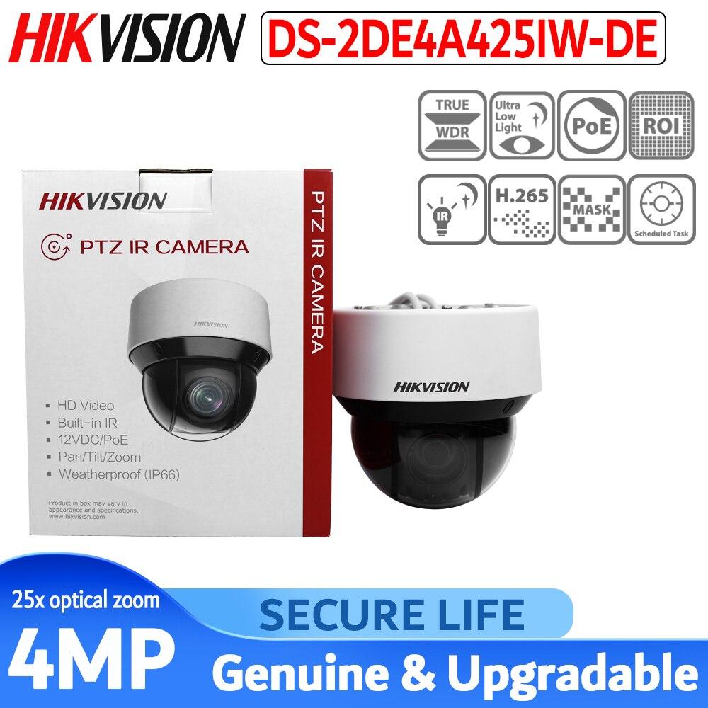 Version internationale DS-2DE4A425IW-DE 4mp 25x réseau 50m IR Hikvision PTZ caméra POE H.265 caméra de vidéosurveillance