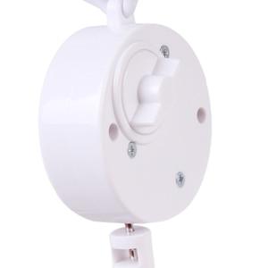 Image 3 - תינוק צעצועי לבן רעשנים סוגר סט מיטת תינוק נייד מיטת פעמון צעצוע מחזיק זרוע סוגר רוח תיבת נגינה זרוק חינם