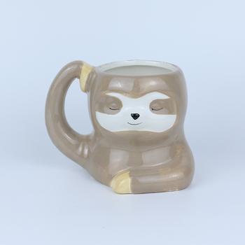 Zwierząt kubek ceramiczny kubek wody 3D kot kubek kawy kubek ceramiczny kreatywny kubek do mleka piasek kubki kreatywny kubek biurowy tanie i dobre opinie CN (pochodzenie) Porcelany cartoon Bez elementów Uchwyt Ekologiczne