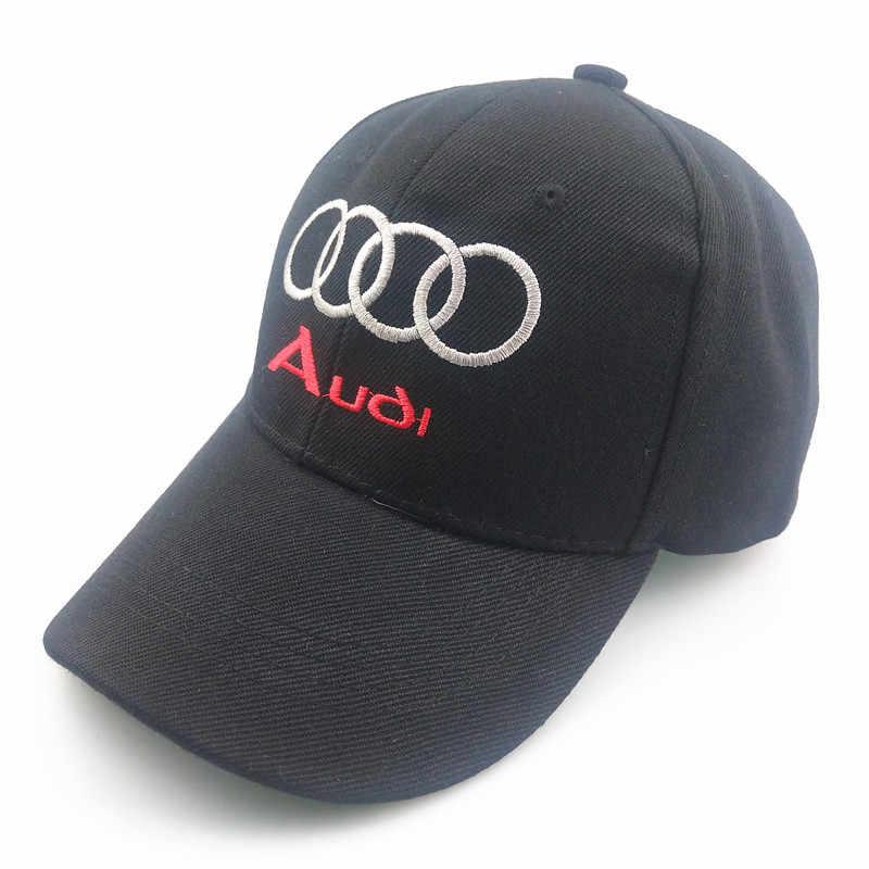 2019 Nouvelle Casquette de Baseball unisexe Voiture camion chapeau broderie Pour Audi A3 A4 B5 B6 B7 B8 A6 C5 A5 TT Q3 Q5 Q7 A1 A2 A7 A8 S3 S4 RS