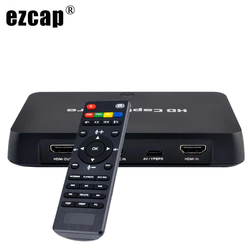 HDMI AV Video Capture Card 1080P Time Scheduled Recording TV