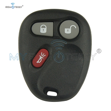 Remotekey  for GMC Chevrolet car key fob KOBUT1BT KOBLEAR1XT 315Mhz 3 Buttons Keyless Entry Remote Key Fob 4 buttons auto keyless entry remote car key shell case fob for buick pontiac g5 g6 chevrolet rubber pad replacement car covers