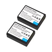2200mAh LP-E10 LP E10 LPE10 Digital Camera Battery For Canon 1100D 1200D 1300D Rebel T3 T5 KISS X50 X70 Battery L50 недорого