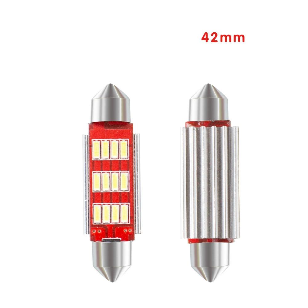 3532 White LED Bulb Wedge Heatsink Bulb Automobile Width Light Trunk Lamp