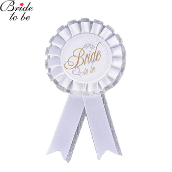 Photo Props Groom White Bride To Be Badge Stag Night Bachelor Wedding Hen Night Party DIY Supplies Dad to Be Party Accessories image