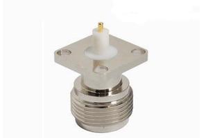 Image 1 - 50pcs N KFD 5 N Female Jack Panel Mount RF Coax Connector Flange Solder Nickelplated