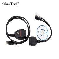 OkeyTech Galletto 1260 ECU Chip Tuning Car Tool EOBD Flasher ECU Flasher For Audi V W Best Quality Car Fault Diagnosis Test Line