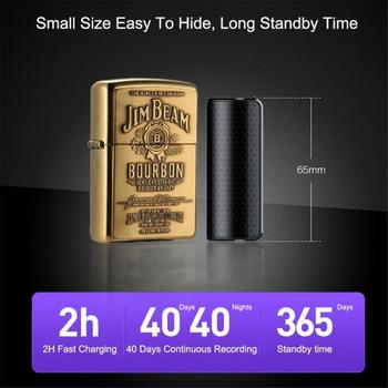 8GB Small Voice Activated Mini Clip On Magnetic  6