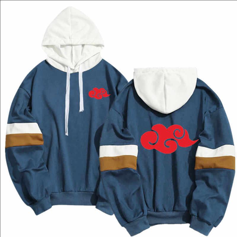 Mode Japan Anime Naruto Akatsuki Mitglied Hoodies Frühling Sommer Hip Hop Pullover Sweatshirt Itachi Obito Große Größe Hoodie 2020
