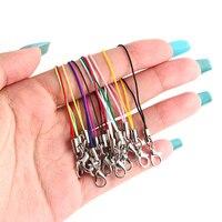 20 stücke Hand Handgelenk Lanyard String Kurze Grip Lanyard Handy Gurt für USB-Stick Schlüsselbund ID Abzeichen Halter DIY Hängen Seil