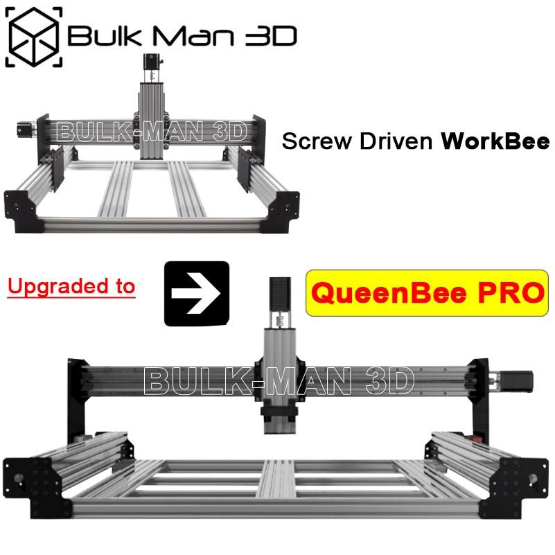 Обновленный комплект для винтового привода WorkBee для QueenBee PRO CNC