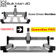Kit de atualização para parafuso conduzido workbee para queenbee pro cnc