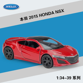 2015 HONDA NSX WELLY Cars 1/36 Metal Alloy Diecast Model Cars Toys image