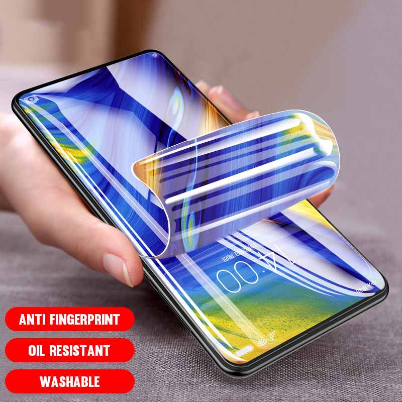 Soft HD Hydrogel Film For Huawei Mate 30 10 9 Pro 20 Lite X Screen Protector On Huawei Honor 8X 9X 8A 10i Protective Gel Film