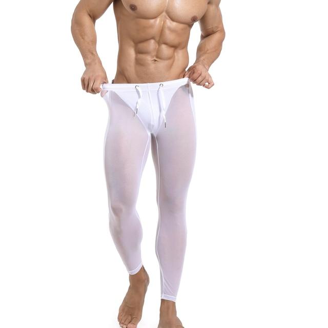 Men's 2021 Long johns Seamless Legging Track Fitness Sports Leggings Men Compression Workout Comression Jogging 6Colors 4