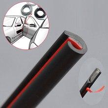 5m proteção de vedação de carro tira de borracha porta do carro protetor molduras lado anti-rub proteção porta do carro de arranhões carro-estilo